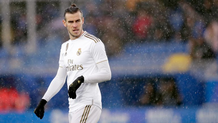 Gareth Bale started for Real Madrid at Alaves