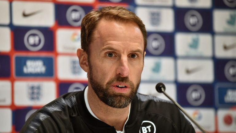 England manager Gareth Southgate admitted he would understand if Raheem Sterling has 'the hump' over not playing in England's 1000th game against Montenegro on Thursday.