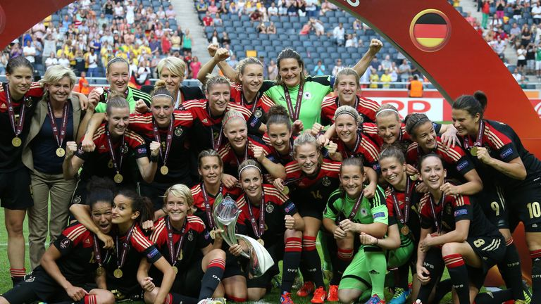 Germany are one of the most successful sides in Europe, having won eight European Championship titles