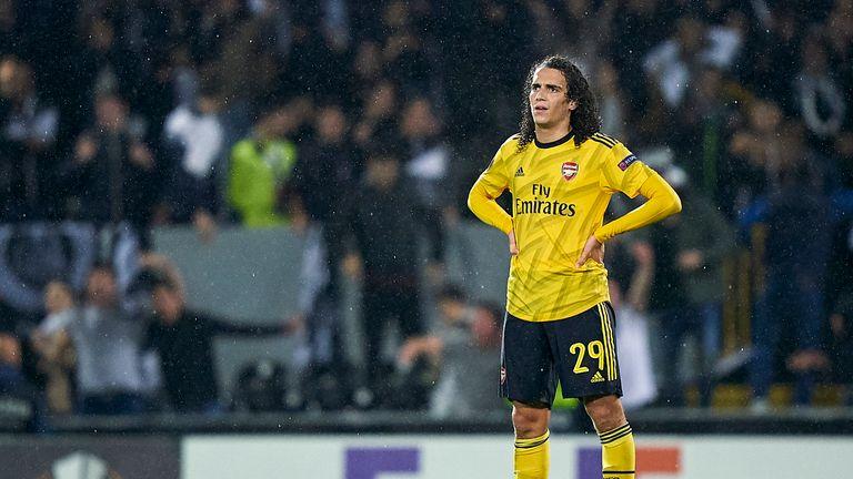 Guendouzi of Arsenal