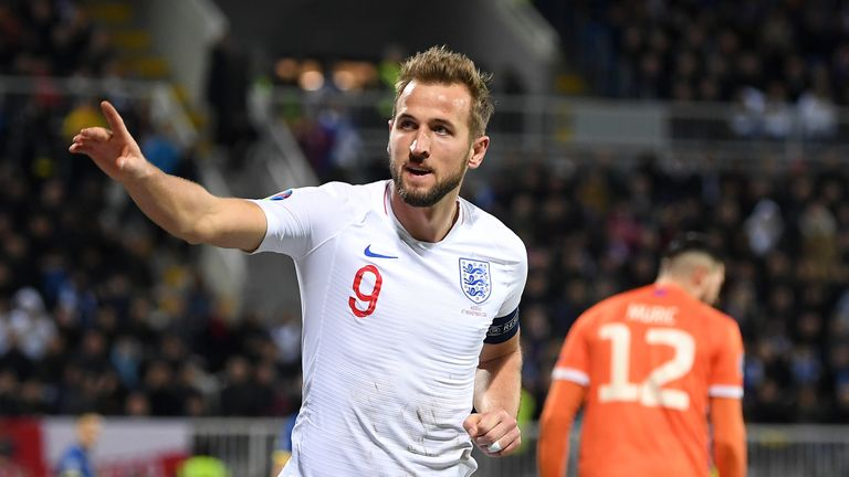 Harry Kane has now scored 32 goals in 45 England appearances