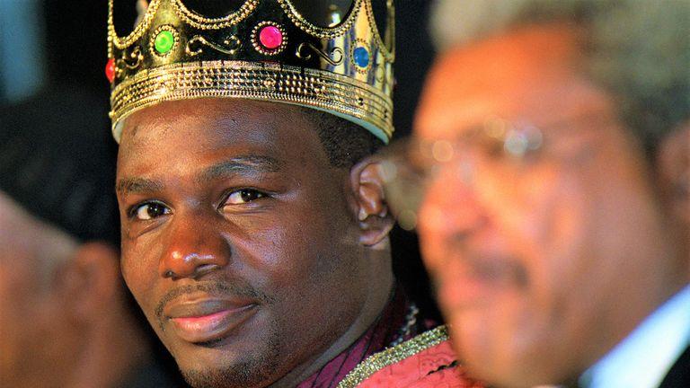 Hasim Rahman enjoyed his status as a king of the heavyweight division