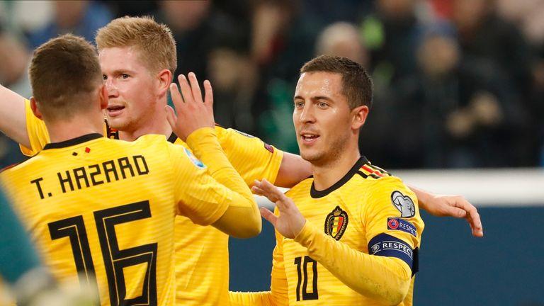 World Cup 2020 Belgium Vs Japan.European Qualifiers Round Up Belgium Thrash Russia To