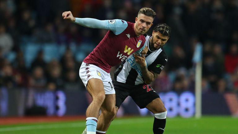 Jack Grealish for Aston Villa vs Newcastle