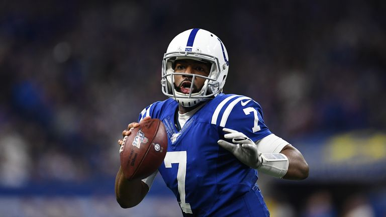 Jacoby Brissett was traded by the New England Patriots to the Indianapolis Colts in 2017
