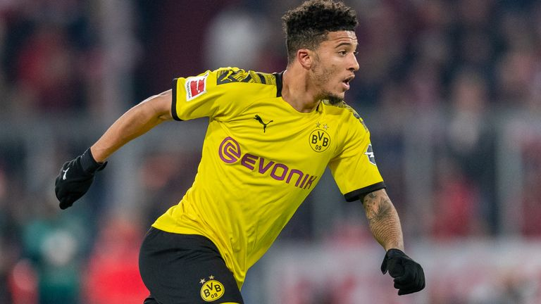 Jadon Sancho continues to be linked with a move away from Borussia Dortmund