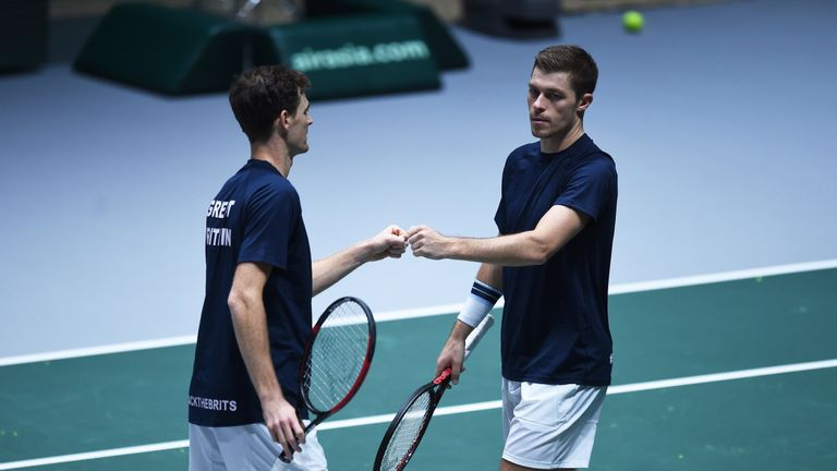 Jamie Murray and Neal Skupski reached the semi-finals of the US Open