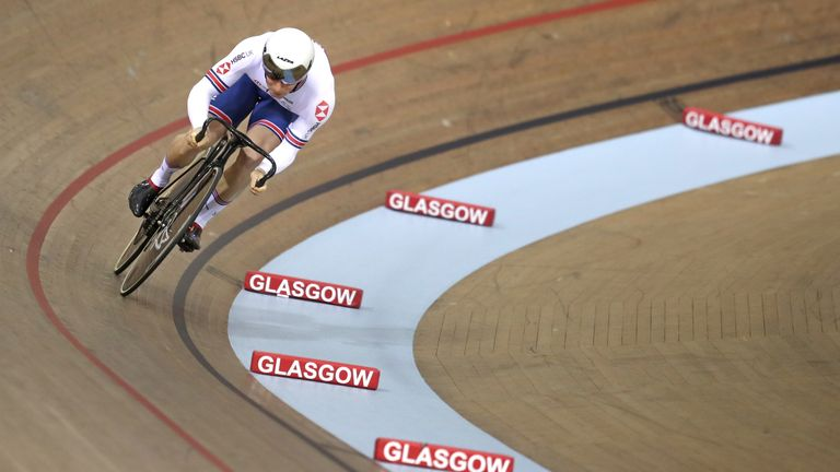 Jason Kenny missed out on a medal in Glasgow