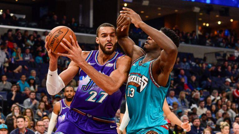 Utah Jazz against Memphis Grizzlies in the NBA