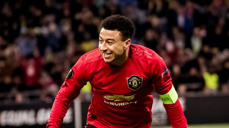 Jesse Lingard ended a 28-game goal drought with his first goal in 10 months