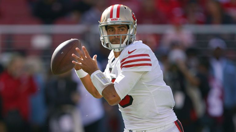 Jimmy Garoppolo's 49ers remain the NFL's only undefeated team at Week 10