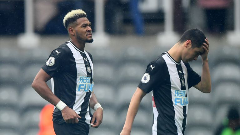 Joelinton and Miguel Almiron have failed to impress since joining Newcastle