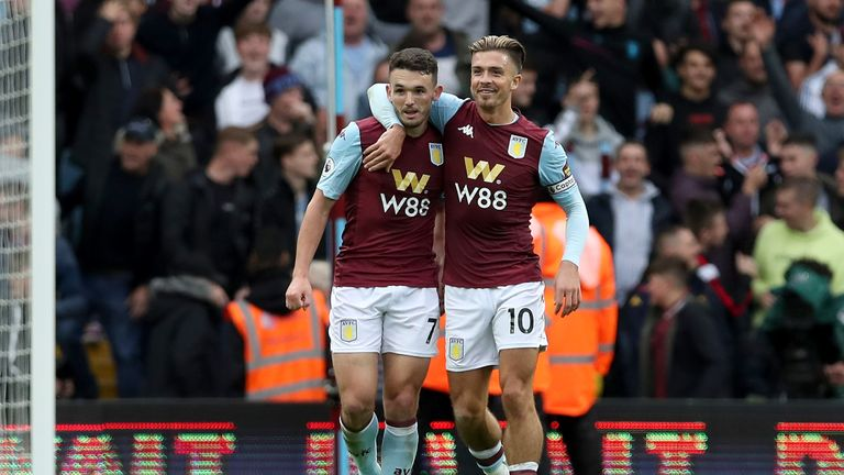 John McGinn and Jack Grealish are good friends off the pitch