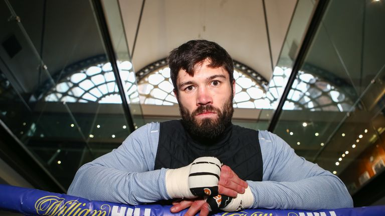 John Ryder has put himself forward as a possible opponent for 'Canelo'
