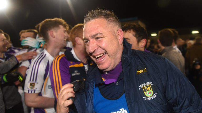 Johnny Magee led Kilmacud to Dublin SFC glory as joint-manager in 2018