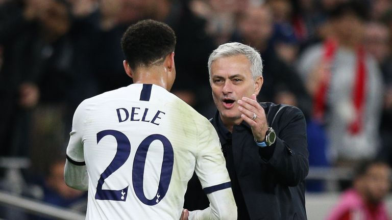 Mourinho has said that Alli is not a midfielder in the traditional sense