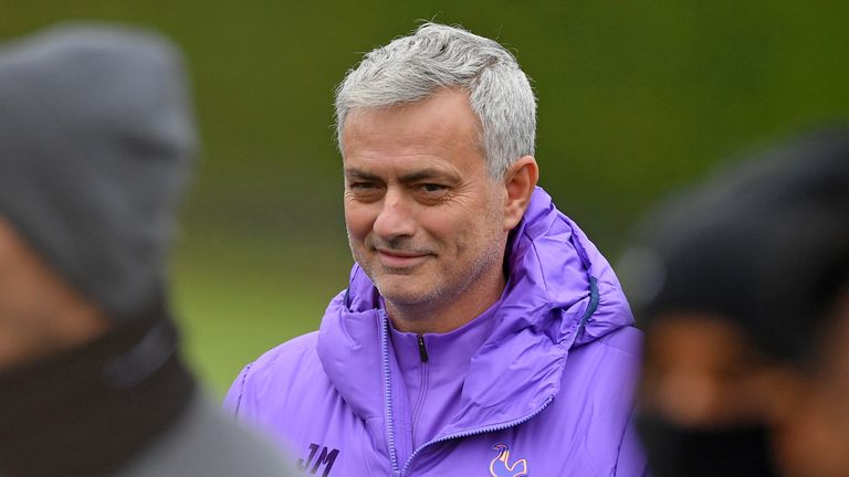 Jose Mourinho won three trophies at Manchester United in his first season at the club in 2016/17