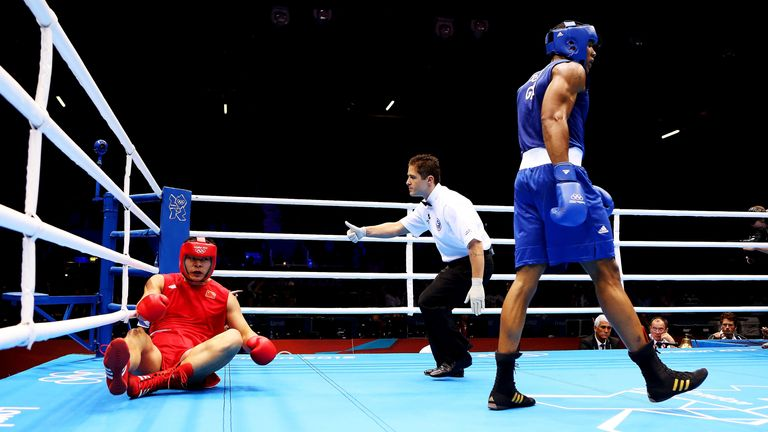 on Day 10 of the London 2012 Olympic Games at ExCeL on August 6, 2012 in London, England.