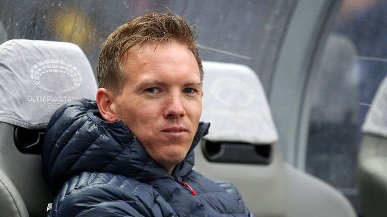 Julian Nagelsmann is one of the youngest coaches in Europe's top five leagues