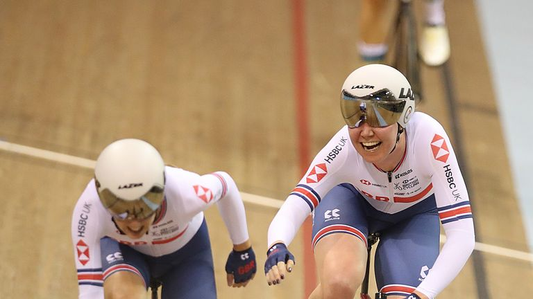 Katie Archibald and Elinor Barker won silver for Great Britain