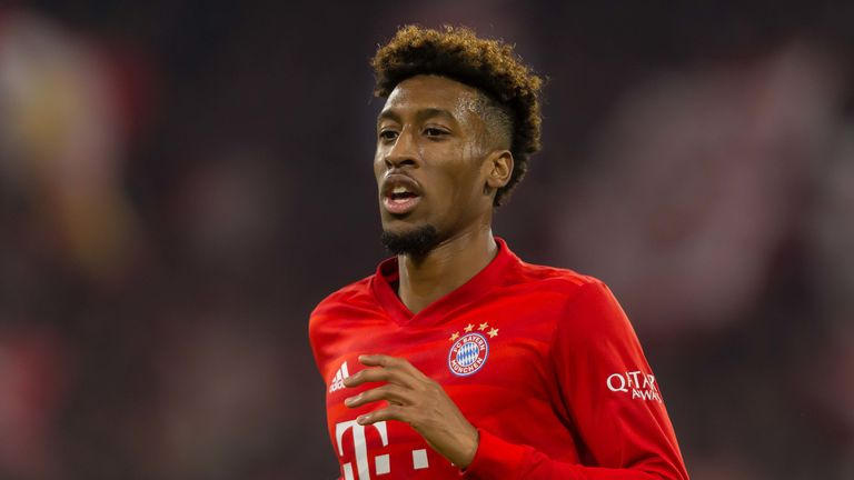 Kingsley Coman could replace Leroy Sane at Manchester City