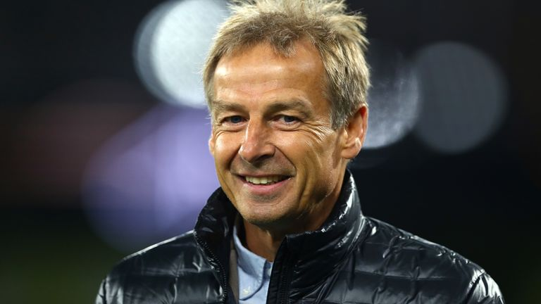 Jurgen Klinsmann appointed Hertha Berlin manager