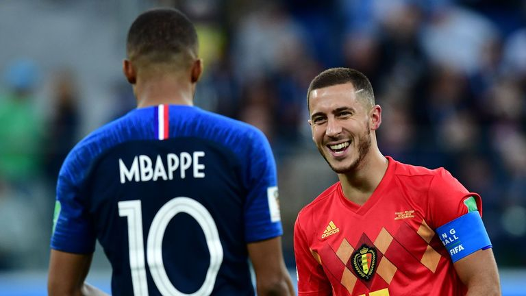 Eden Hazard says he wants to bring PSG striker Mbappe to Real Madrid
