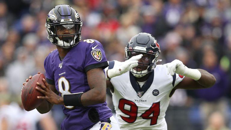 Lamar Jackson, Baltimore Ravens