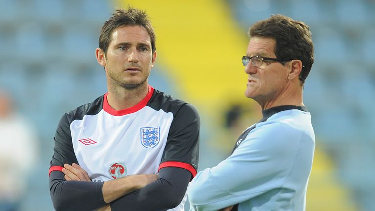 Fabio Capello says he has been following Frank Lampard's progress closely
