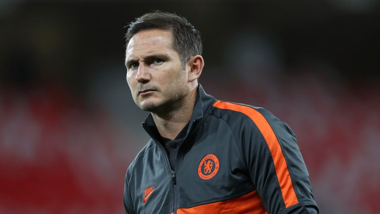 Frank Lampard's side have the chance to cement fourth place with a win over Manchester  United