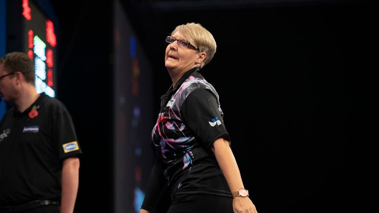 Ashton admitted she 'tried too hard' but still enjoyed her Grand Slam of Darts debut