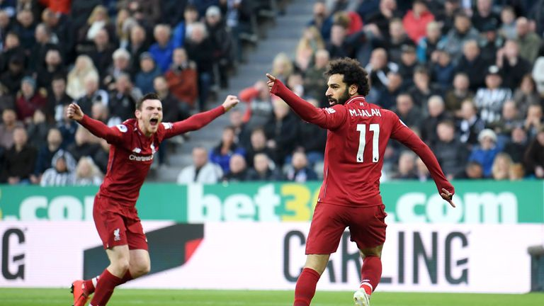 Andrew Robertson and Mohamed Salah have collectively contributed to 14 goals this season