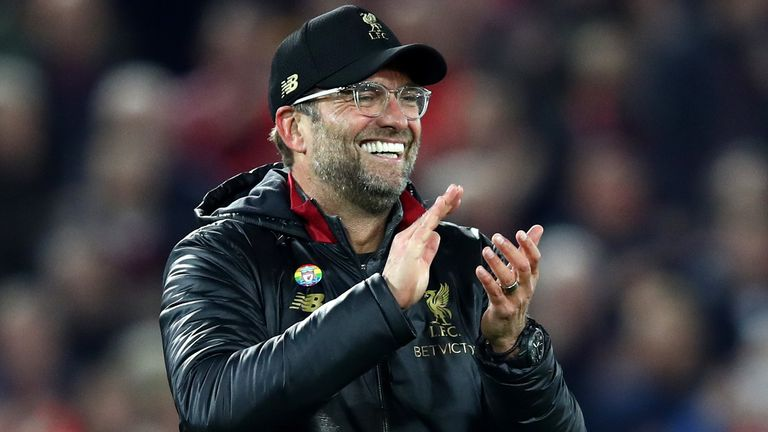 Jurgen Klopp has been speaking to the media ahead of his side's crunch game with Manchester City