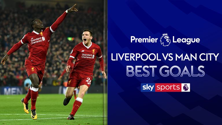 Liverpool v Manchester City Best Goals