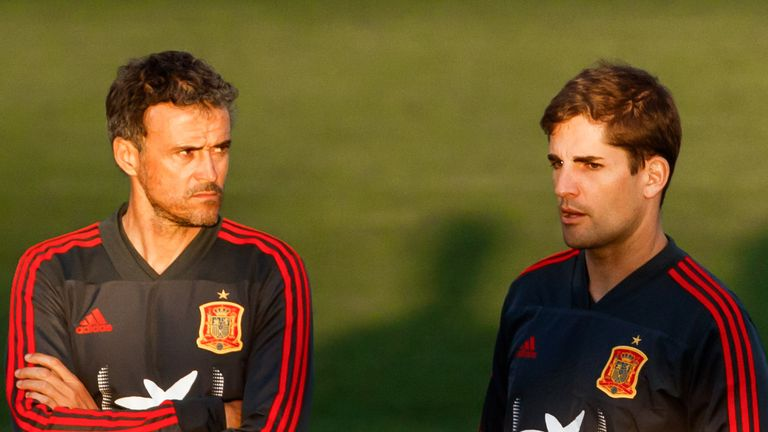 Moreno was Enrique's assistant for nine years at Roma, Celta Vigo, Barcelona and Spain