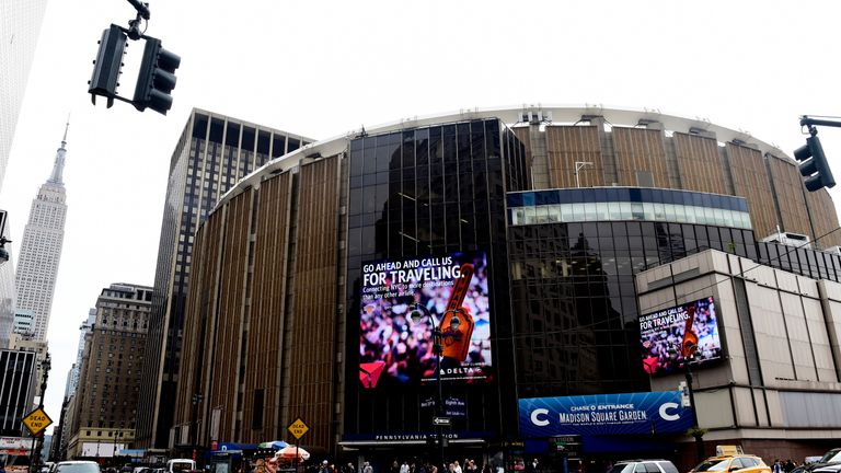 The iconic Madison Square Garden will host the darts in 2020