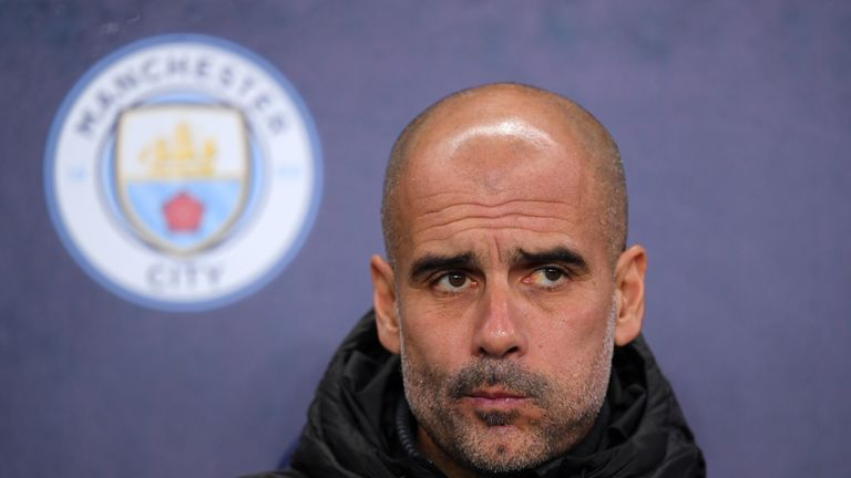 Pep Guardiola's current Manchester City contract expires in 2021