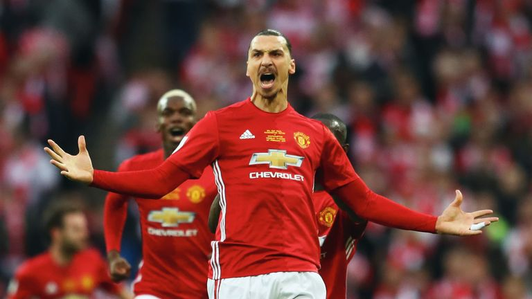 Zlatan Ibrahimovic scored 29 goals for Manchester United during a two-year spell at Old Trafford