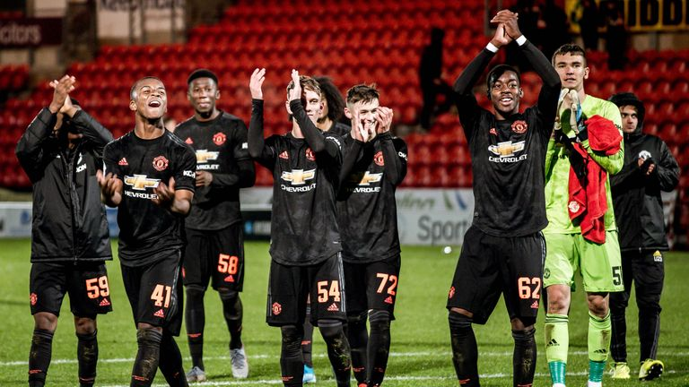 Manchester United have taken a young squad to Kazakhstan