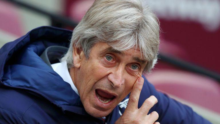West Ham have sacked Manuel Pellegrini