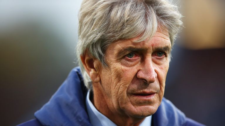 Manuel Pellegrini's future is in doubt after Monday's 3-1 defeat to Arsenal
