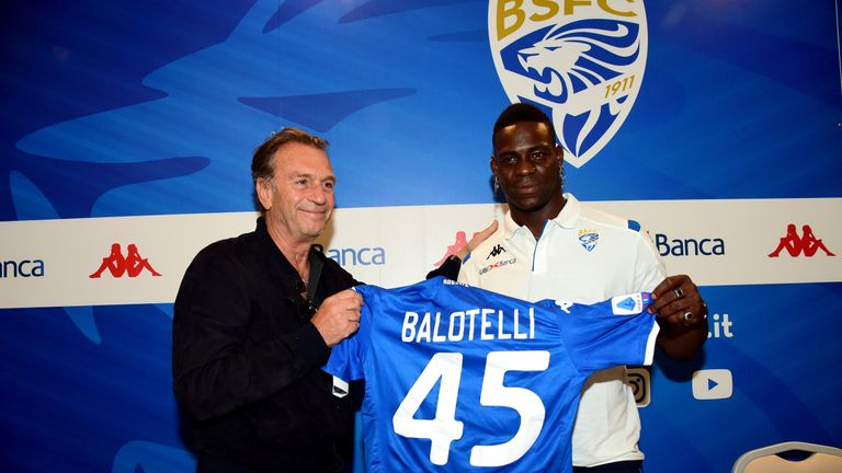 Italian footballer Mario Balotelli subjected to racist remarks by own team president