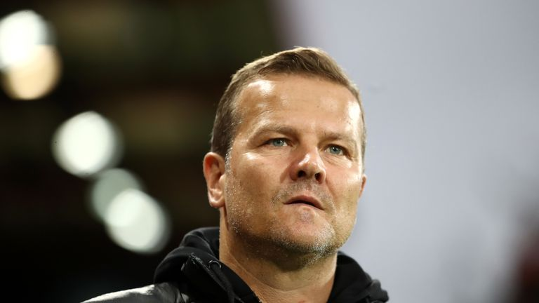 Mark Cooper, manager of Forest Green Rovers
