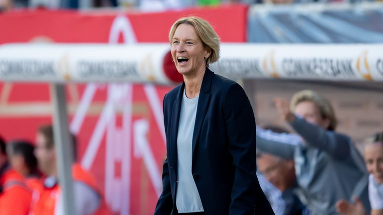 Martina Voss-Tecklenburg was appointed as Germany manager last year