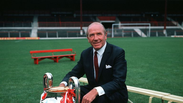 Matt Busby managed Manchester United for 25 years