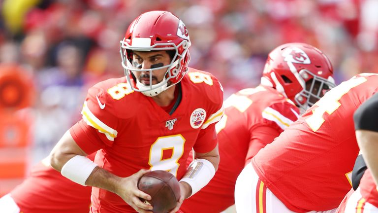 Matt Moore played well in place of Patrick Mahomes