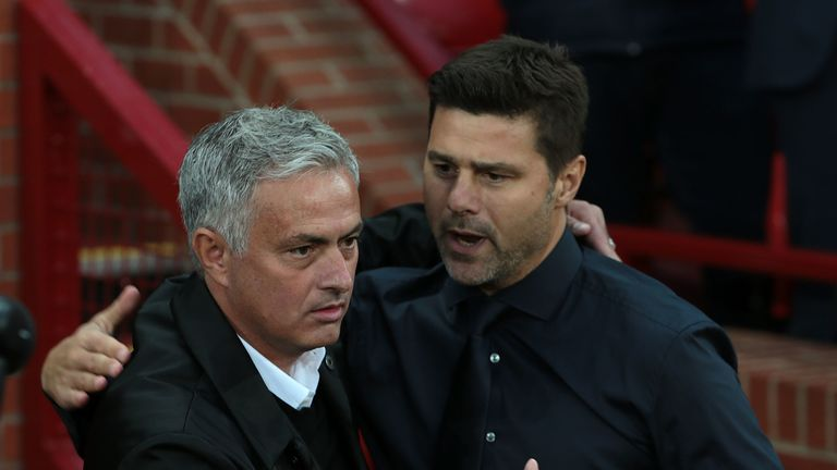 Pochettino had been earmarked as a replacement for Mourinho last December