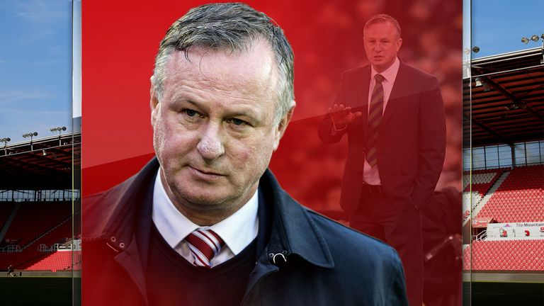 Michael O'Neill says things are in place to get Stoke back to the Premier League