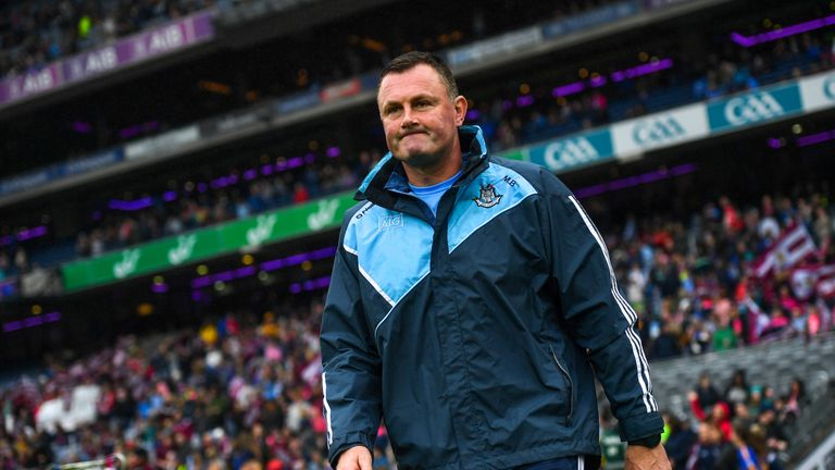 Mick Bohan has led the Dublin ladies to three-in-a-row