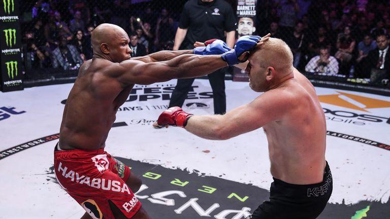 MMA Bellator Linton Vassell